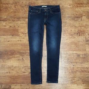 Levi's 711 Blue Skinny Jeans